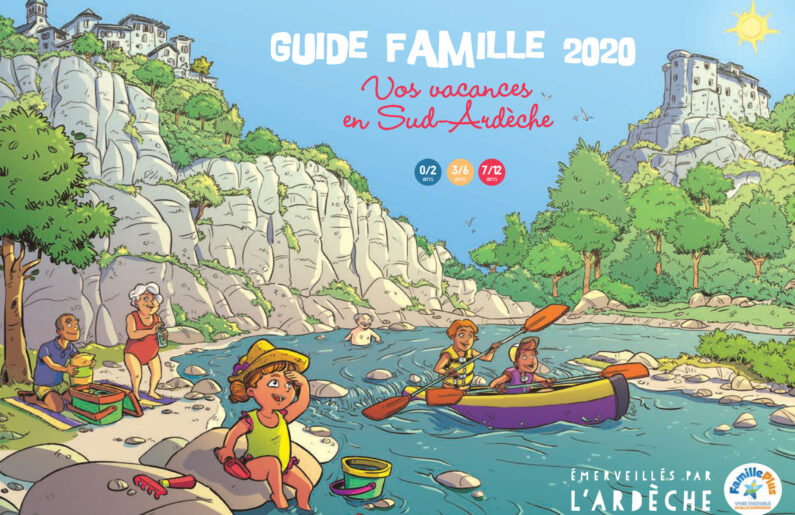 Couverture Guide famille 2020